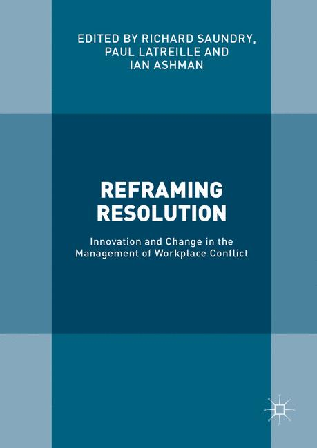 Cover of 'Reframing Resolution'