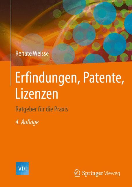 Cover of 'Erfindungen, Patente, Lizenzen'