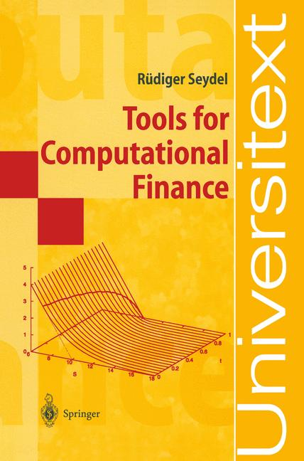 Cover of 'Tools for computational finance'