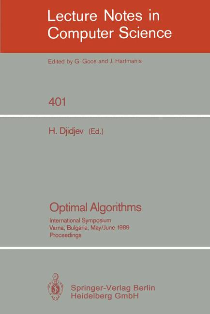 Cover of 'Optimal Algorithms'