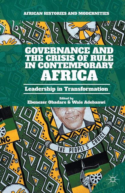 Cover of 'Governance and the Crisis of Rule in Contemporary Africa'