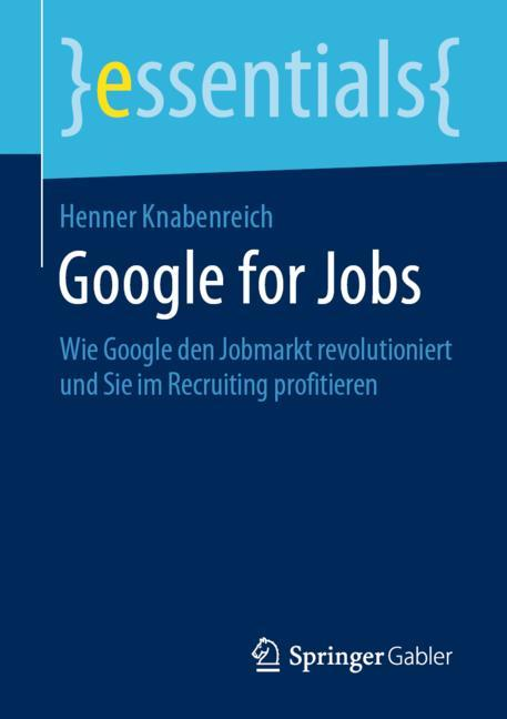 Cover of 'Google for Jobs'