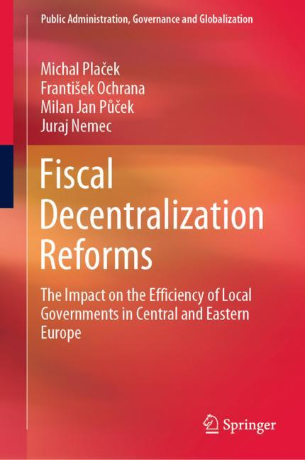 Cover of 'Fiscal Decentralization Reforms'
