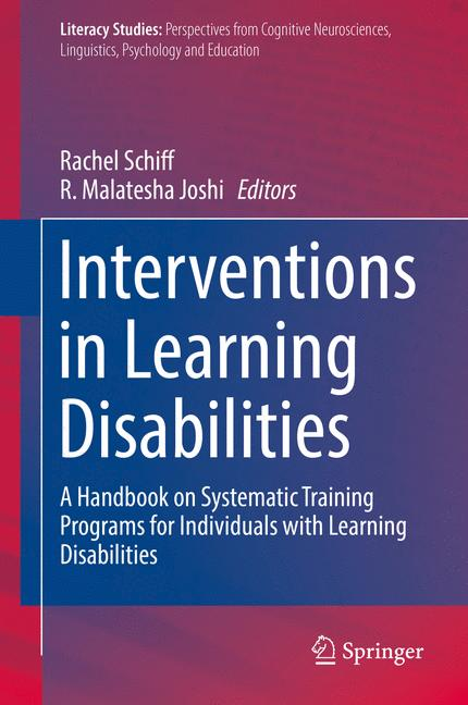 Cover of 'Interventions in Learning Disabilities'