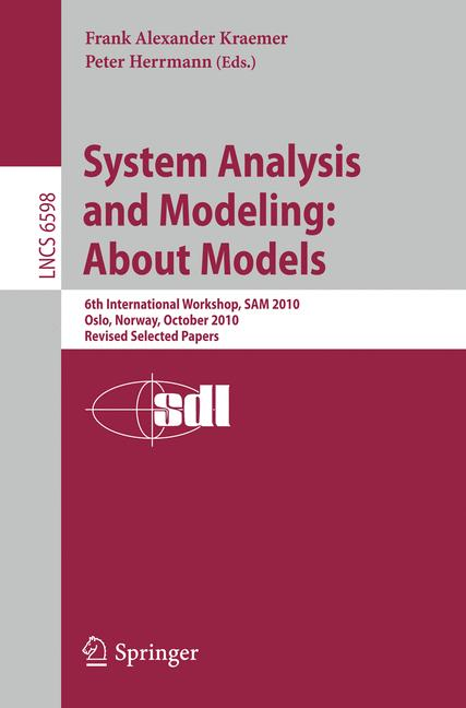 Cover of 'System Analysis and Modeling: About Models'