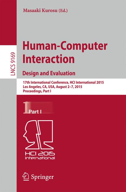 Cover of 'Human-Computer Interaction: Design and Evaluation'