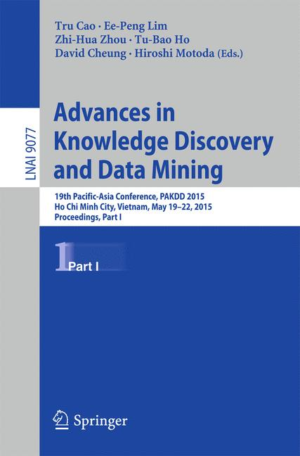 Cover of 'Advances in Knowledge Discovery and Data Mining'