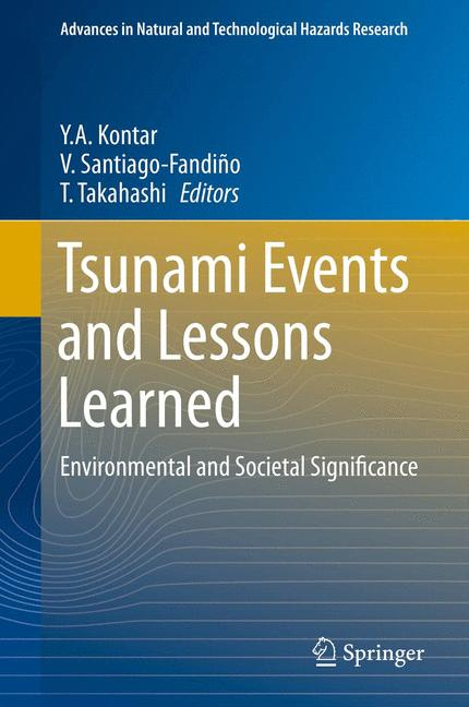 Cover of 'Tsunami Events and Lessons Learned'