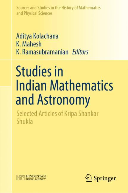 Cover of 'Studies in Indian Mathematics and Astronomy'