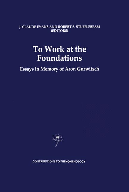 Cover of 'To Work at the Foundations'