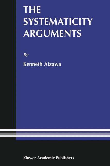 Cover of 'The systematicity arguments'