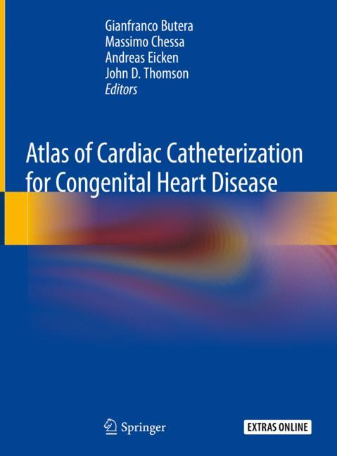 Cover of 'Atlas of Cardiac Catheterization for Congenital Heart Disease'
