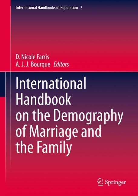Cover of 'International Handbook on the Demography of Marriage and the Family'