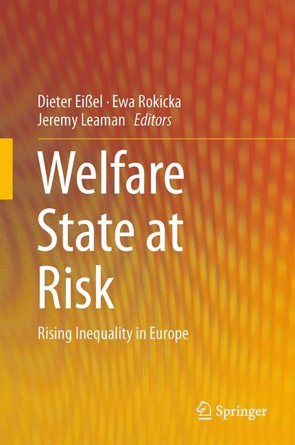 Cover of 'Welfare State at Risk'