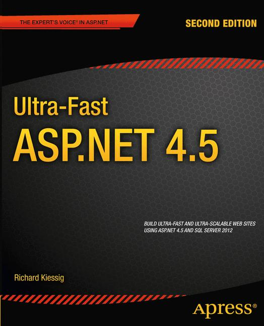 Cover of 'Ultra-Fast ASP.NET 4.5'