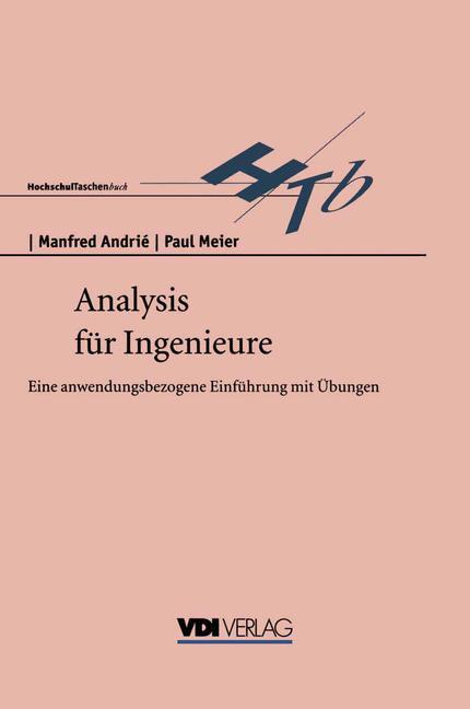 Cover of 'Analysis für Ingenieure'