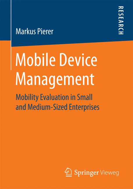 Cover of 'Mobile Device Management'