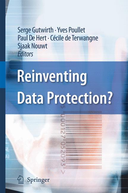 Cover of 'Reinventing Data Protection?'