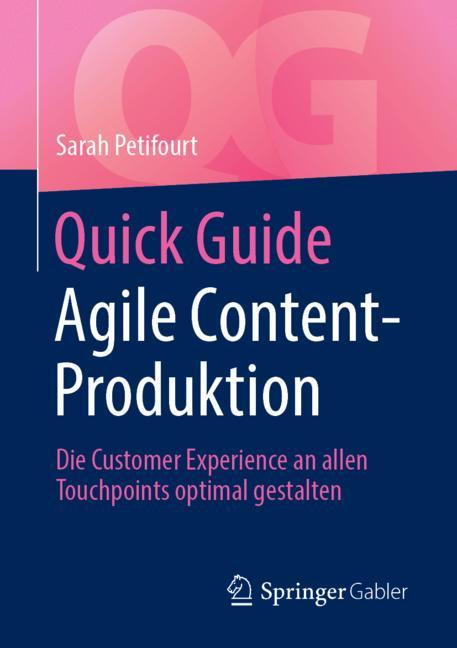 Cover of 'Quick Guide Agile Content-Produktion'