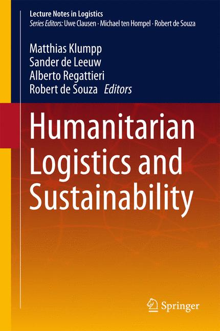 Cover of 'Humanitarian Logistics and Sustainability'