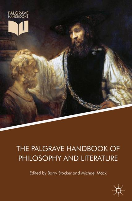 Cover of 'The Palgrave Handbook of Philosophy and Literature'