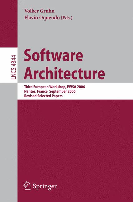 Cover of 'Software Architecture'
