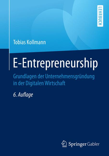 Cover of 'E-Entrepreneurship'