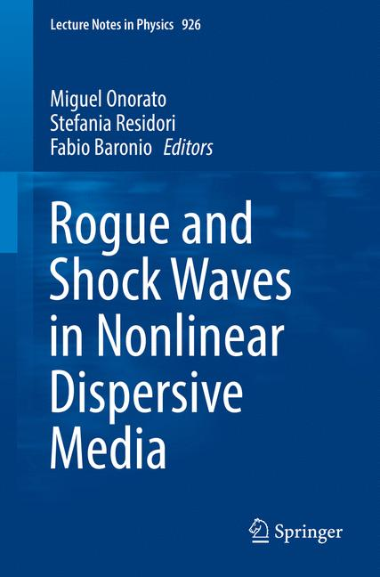 Cover of 'Rogue and Shock Waves in Nonlinear Dispersive Media'