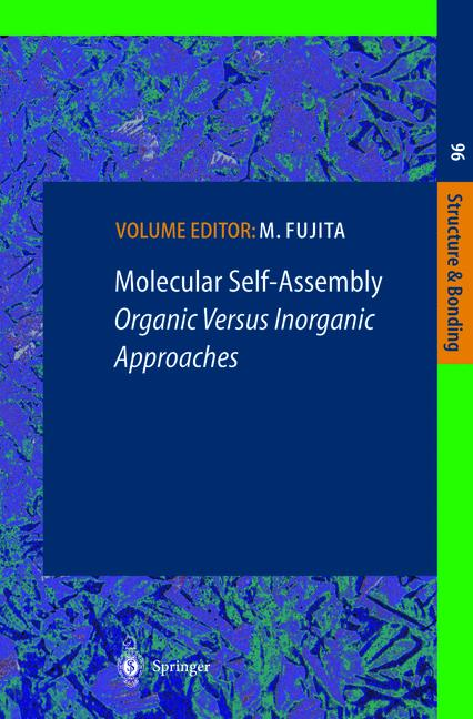 Cover of 'Molecular Self-Assembly Organic Versus Inorganic Approaches'