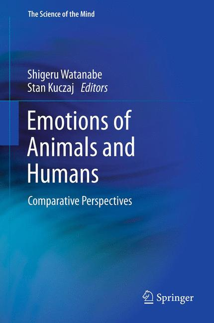 Cover of 'Emotions of Animals and Humans'
