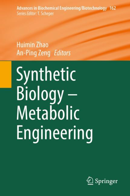 Cover of 'Synthetic Biology – Metabolic Engineering'
