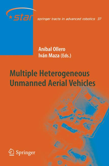 Cover of 'Multiple Heterogeneous Unmanned Aerial Vehicles'