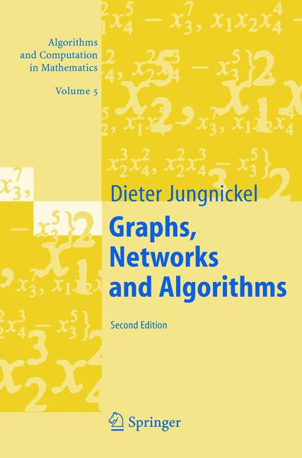 Cover of 'Graphs, Networks and Algorithms'