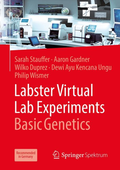 Cover of 'Labster Virtual Lab Experiments: Basic Genetics'