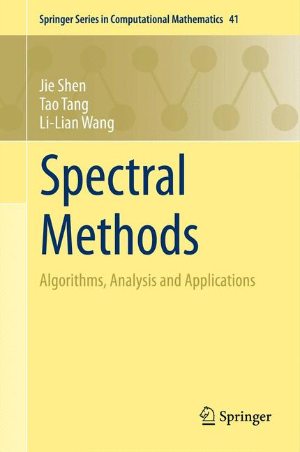 Cover of 'Spectral Methods'
