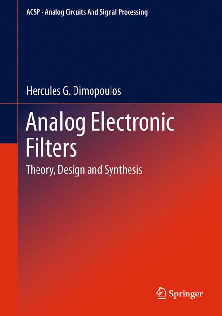 Cover of 'Analog Electronic Filters'
