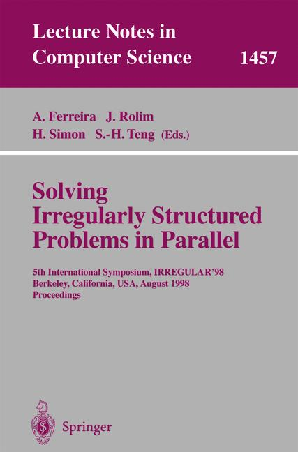 Cover of 'Solving Irregularly Structured Problems in Parallel'