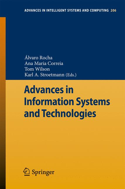 Cover of 'Advances in Information Systems and Technologies'