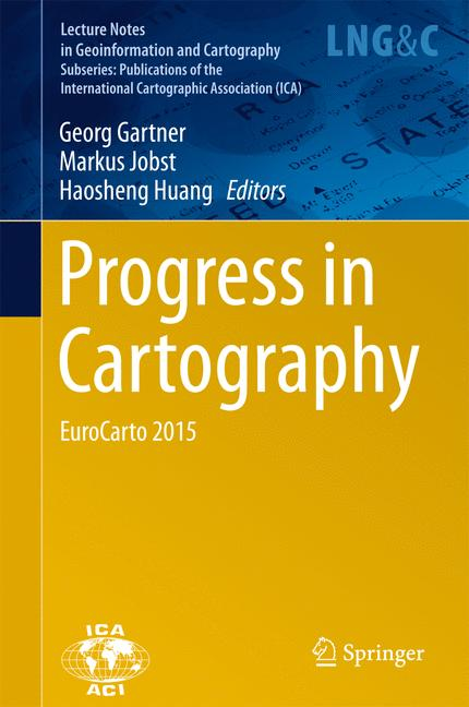 Cover of 'Progress in Cartography'