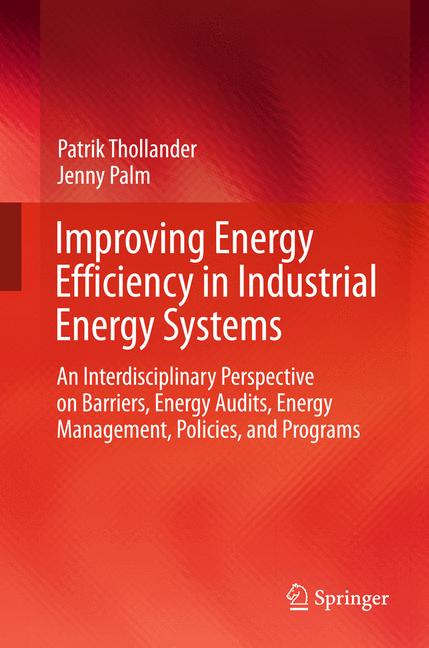 Cover of 'Improving Energy Efficiency in Industrial Energy Systems'