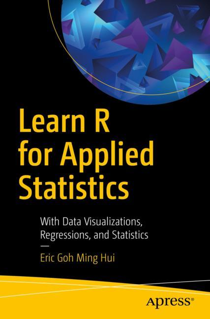 Cover of 'Learn R for Applied Statistics'