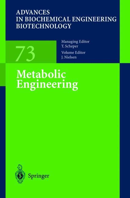 Cover of 'Metabolic Engineering'