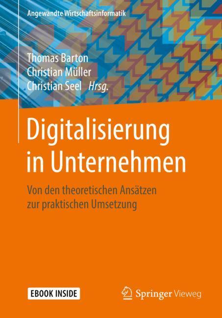 Cover of 'Digitalisierung in Unternehmen'