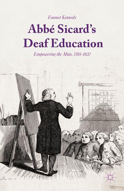 Cover of 'Abbé Sicard's Deaf Education'