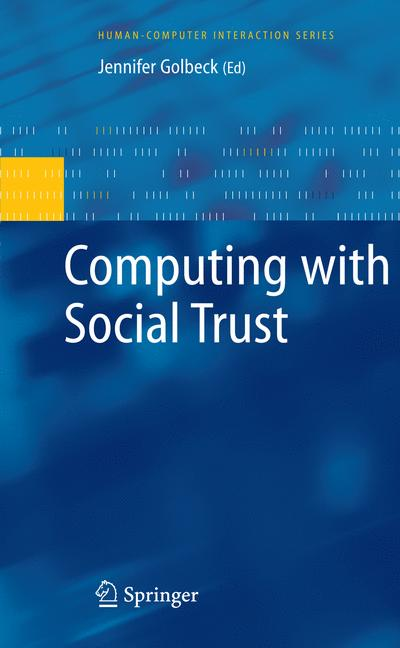 Cover of 'Computing with Social Trust'
