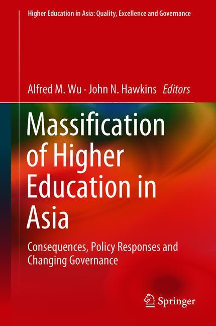 Cover of 'Massification of Higher Education in Asia'