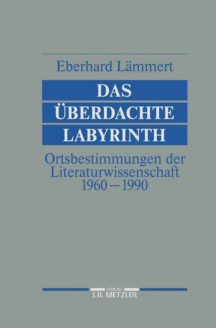 Cover of 'Das Überdachte Labyrinth'