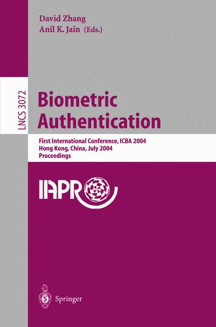 Cover of 'Biometric Authentication'
