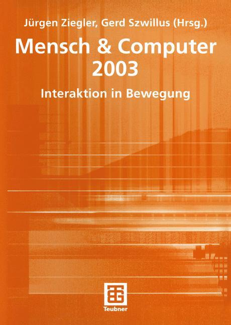 Cover of 'Mensch & Computer 2003'