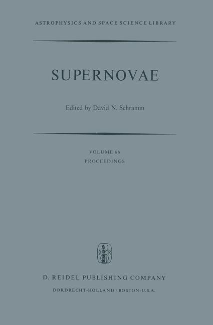 Cover of 'Supernovae'